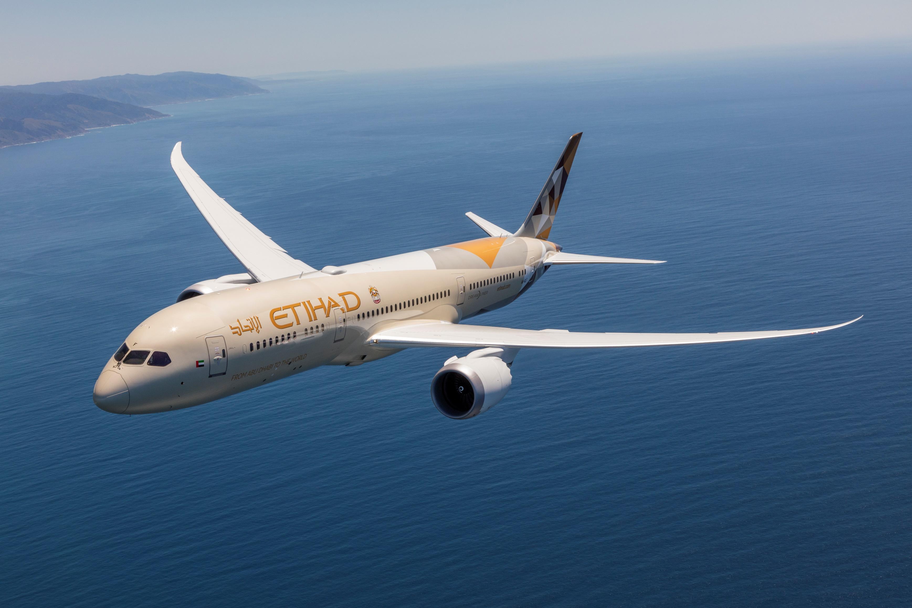 etihad airways introduces its boeing 787-9 dreamliner to lagos