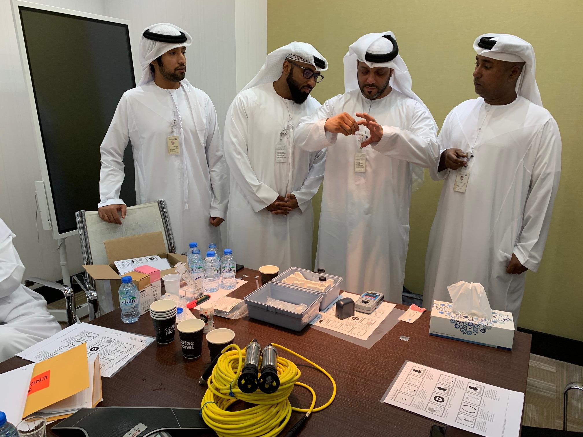 بلدية مدينة أبوظبي تستخدم أفضل التقنيات لتوفير السلامة للمجتمع