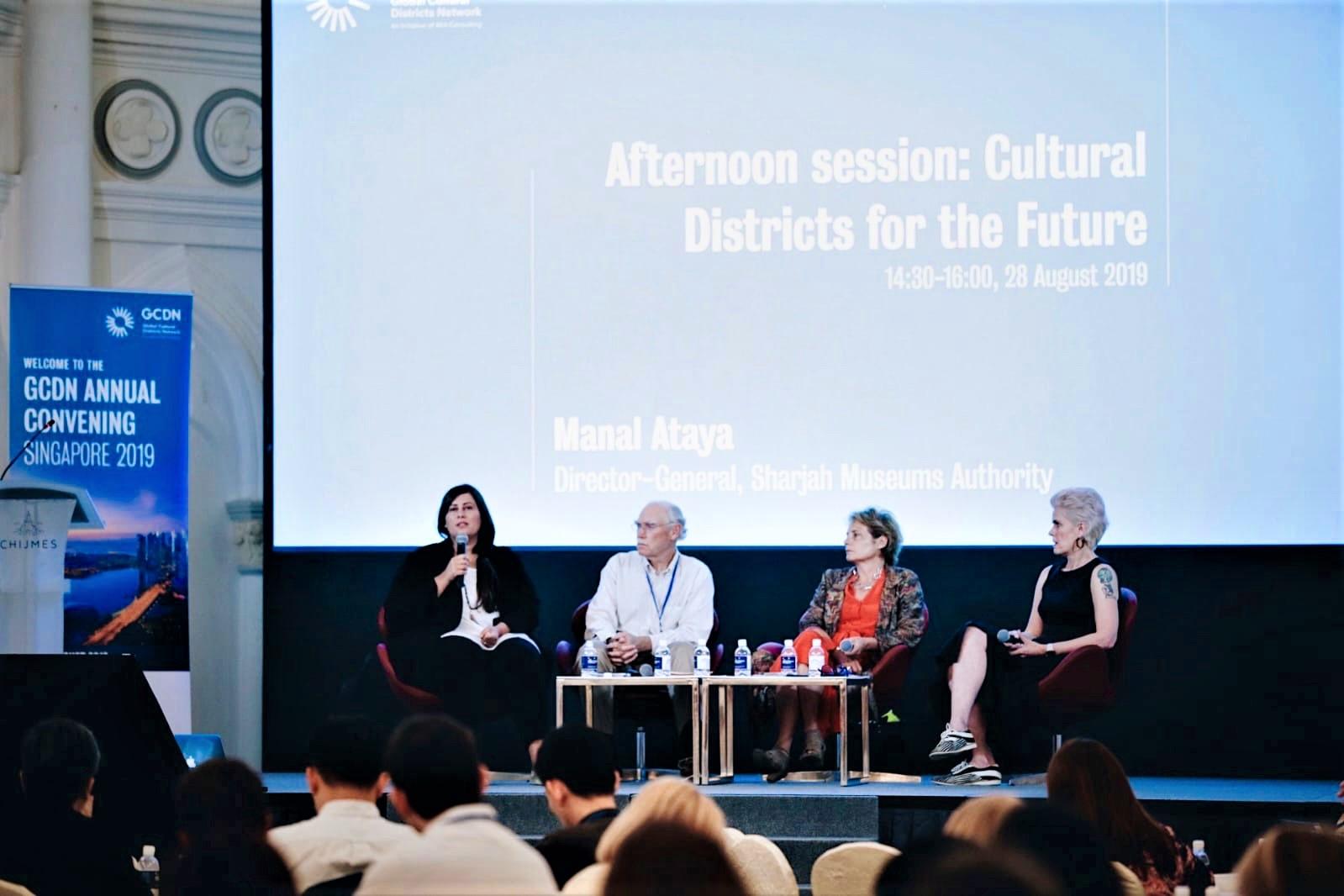 sharjah's flourishing art scene presented to singapore 1