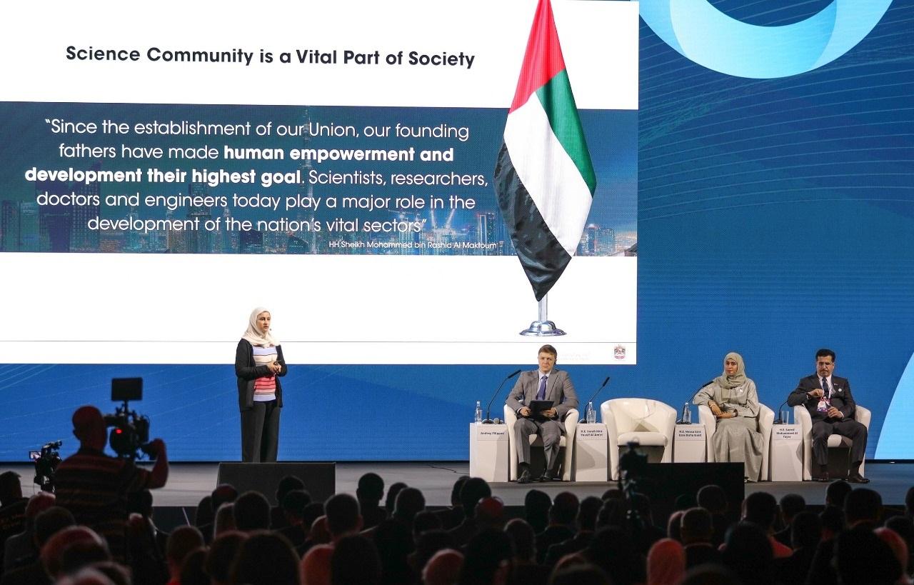 قمة أقدر العالمية تناقش في يومها الثالث دور العلوم المتقدمة والمشاريع المستقبلية في عملية التمكين