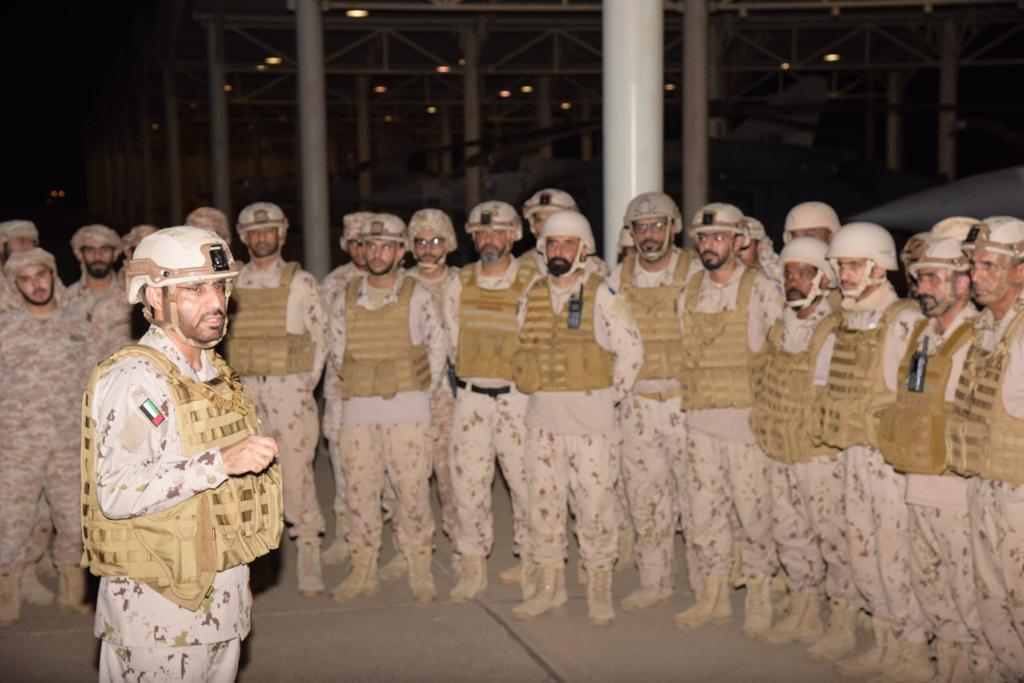 كبار قادة القوات المسلحة يهنئون قواتنا العاملة في اليمن و المتواجدة بالسعودية بعيد الأضحى المبارك