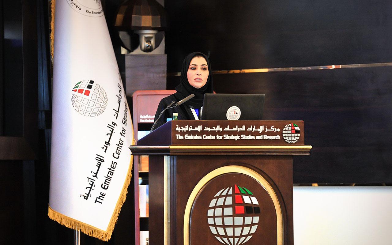 """""""تمكين المرأة الإماراتية في العمل البرلماني"""" .. محاضرة لـ"""" الإمارات للدراسات"""""""