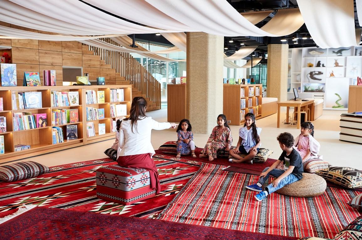 افتتاح المسرح ومكتبة للأطفال في المجمّع الثقافي بأبوظبي سبتمبر المقبل