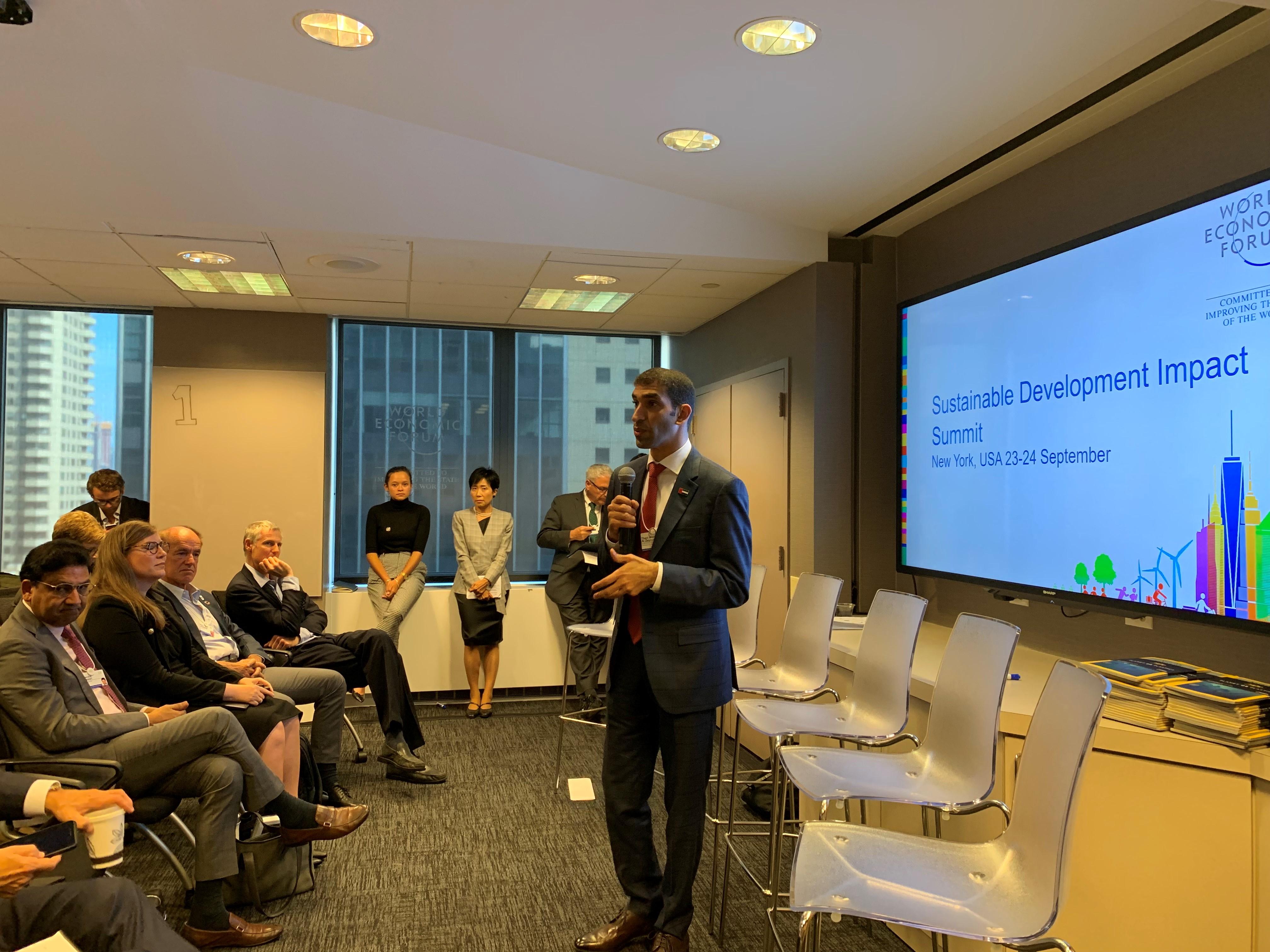 الزيودي: الإمارات سباقة عالميا في تطبيق منظومة التكيف مع تداعيات التغير المناخي