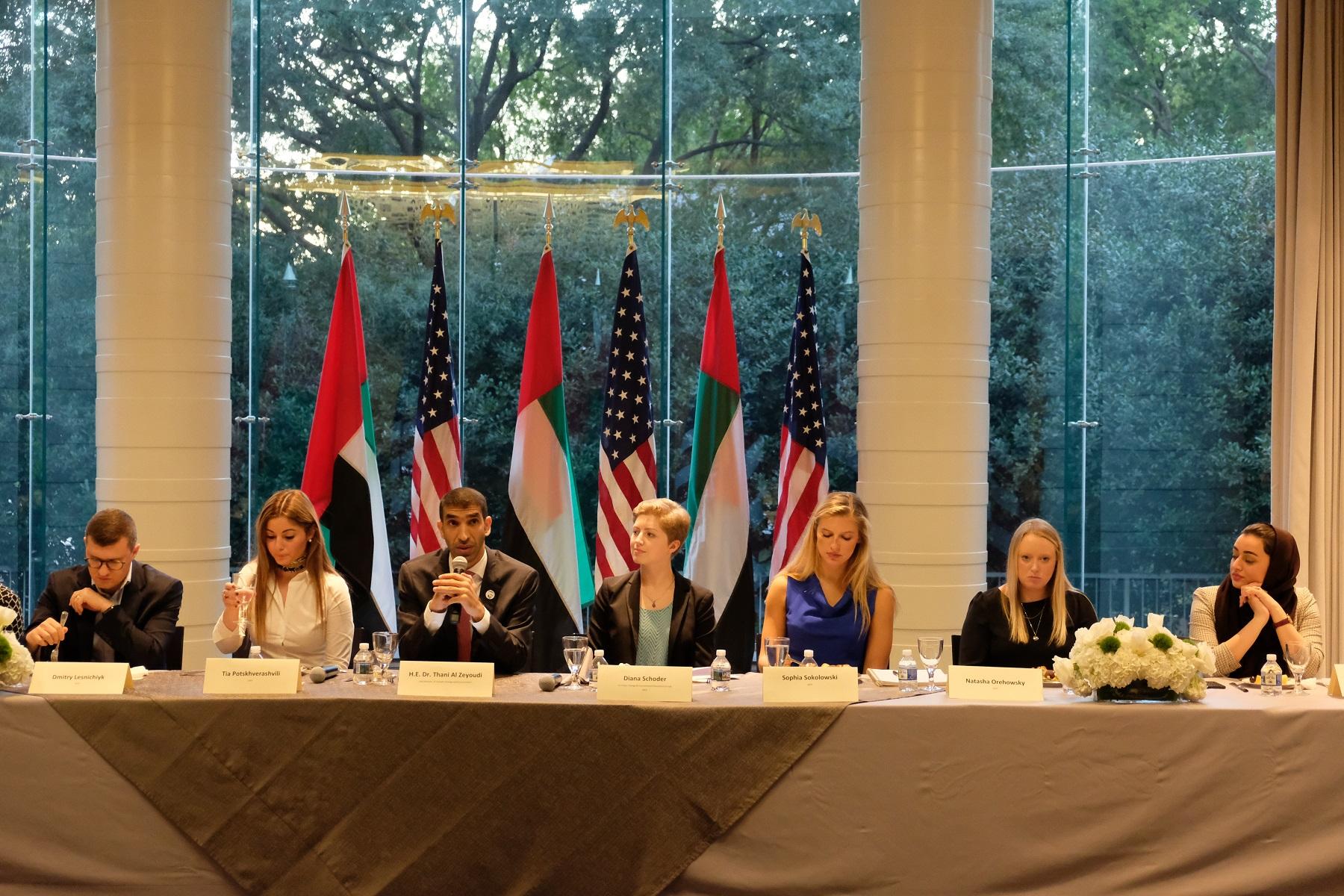 الزيودي: الإمارات تقدم نموذجا فعالا في التعامل مع تحدي التغير المناخي