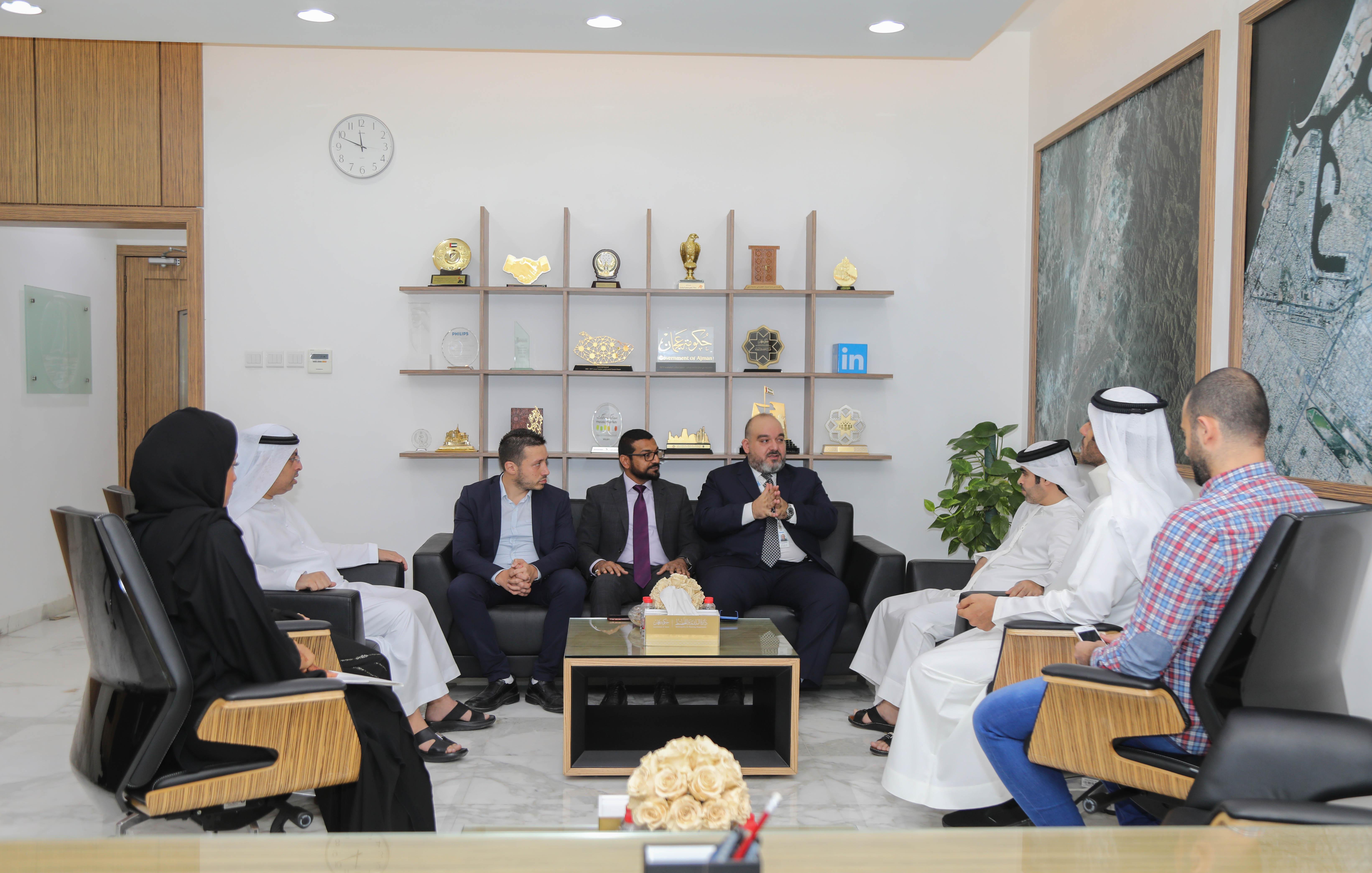 بلدية عجمان توقع عقدا لتنفيذ المرحلة الثانية من مشروع سند الاستراتيجي