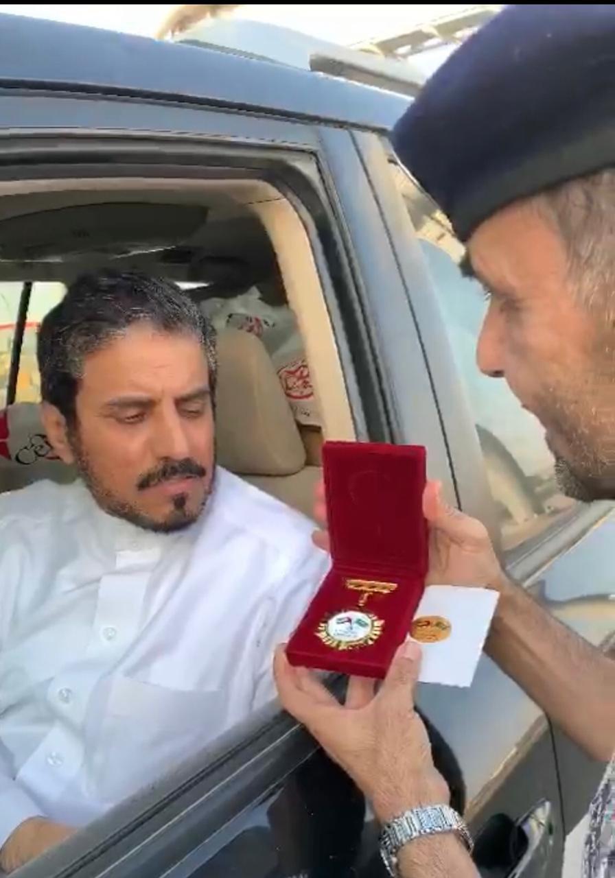 الإماراتي سعودي و السعودي إماراتي مبادرة بالغويفات ضمن حملة درب السلامة