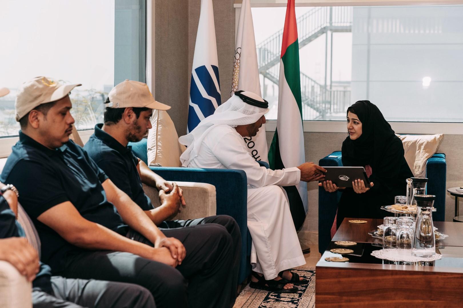 أصحاب الهمم يدعمون إكسبو 2020 دبي