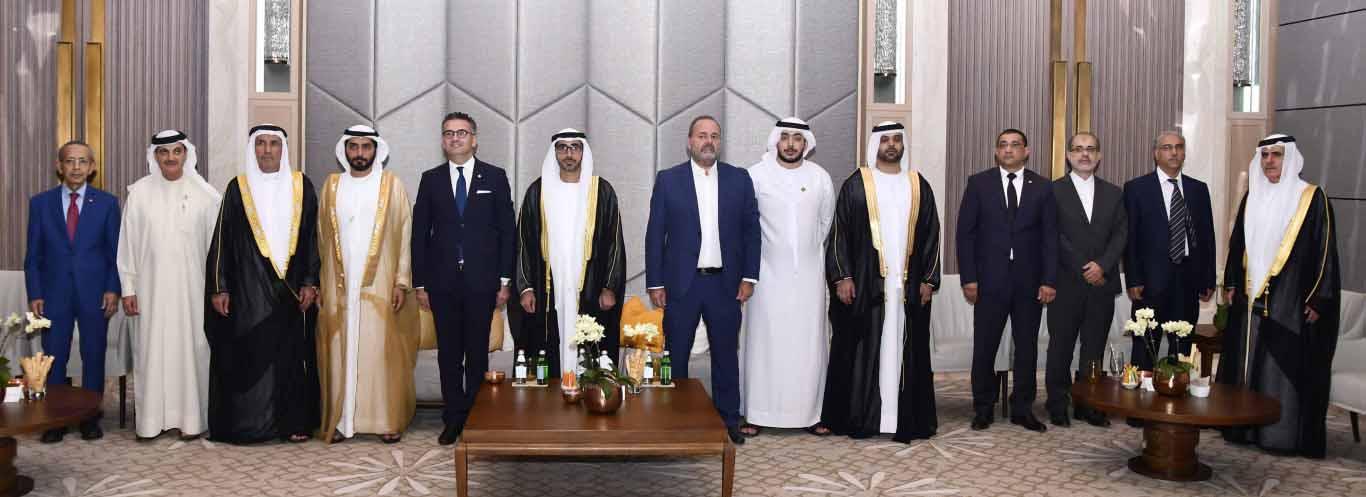 الهاملي يحضر احتفال قنصلية مالطا