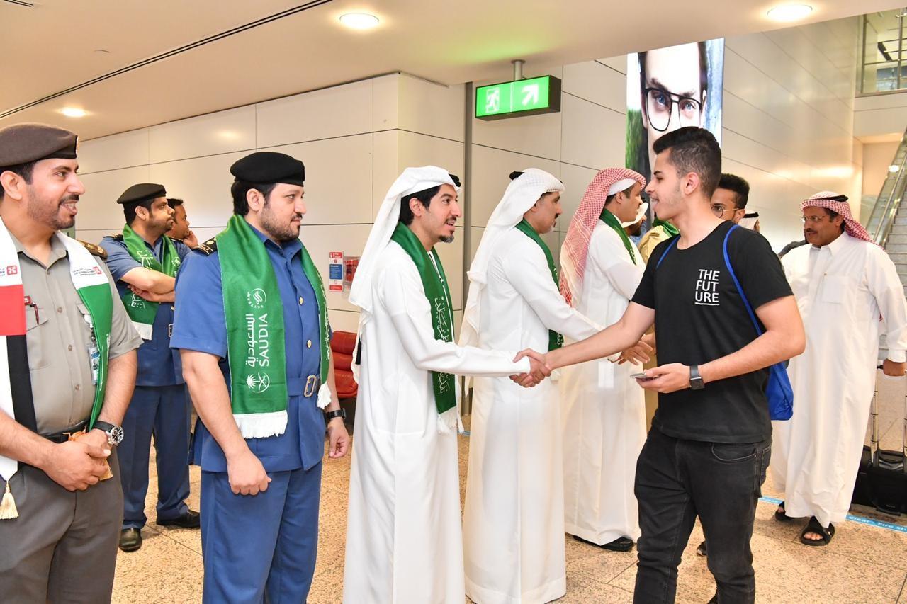 """""""إقامة دبي"""" تحتفي باليوم الوطني السعودي تحت شعار """"همة حتى القمة"""""""
