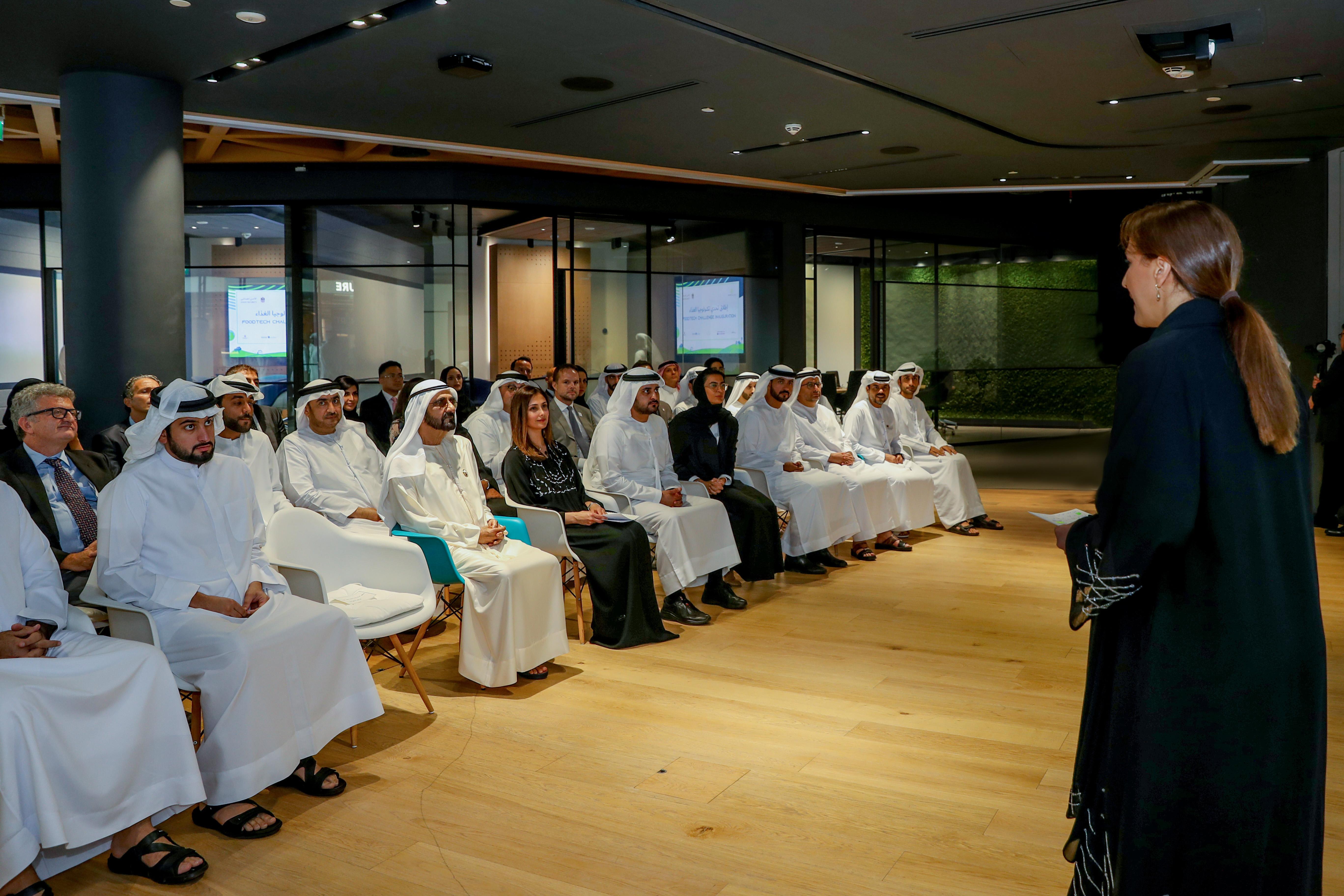 """محمد بن راشد يطلق """" تحدي تكنولوجيا الغذاء العالمي """" لاستخدام التقنيات المتقدمة في إنتاج وإدارة الغذاء في الإمارات"""