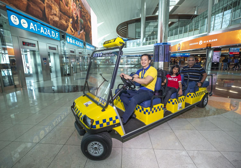 dubai airports launches free taxi service at terminal 3 1
