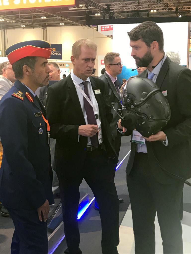 """وزارة الدفاع والقوات المسلحة تشاركان في""""معرض معدات الدفاع والأمن"""" في لندن"""