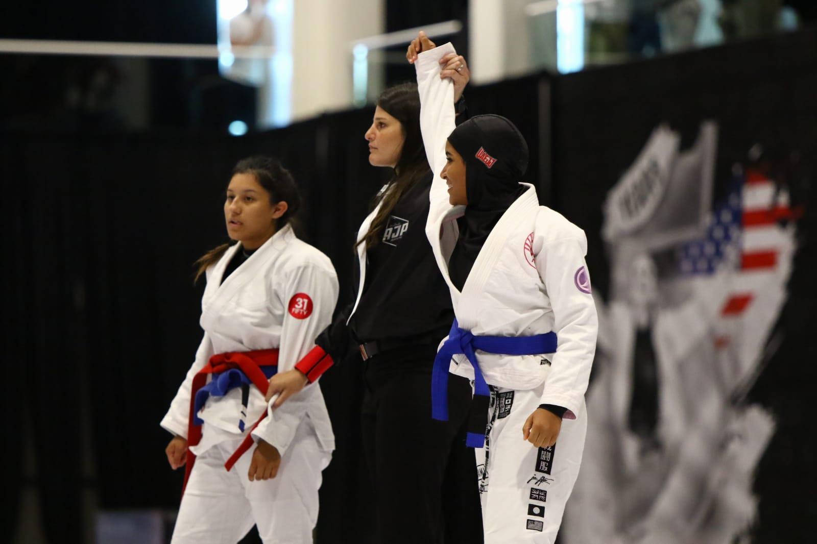 43 ميدالية ملونة لأبطال الإمارات في لوس أنجلوس جراند سلام للجوجيتسو