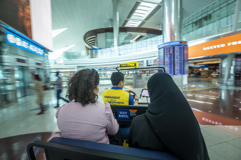 dubai airports launches free taxi service at terminal 32