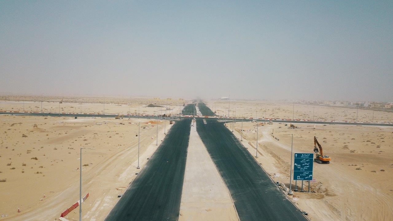 """مركز النقل بأبوظبي و""""مساندة """"يفتتحان طريق بني ياس الحيلية بتكلفة 54 مليون درهم"""