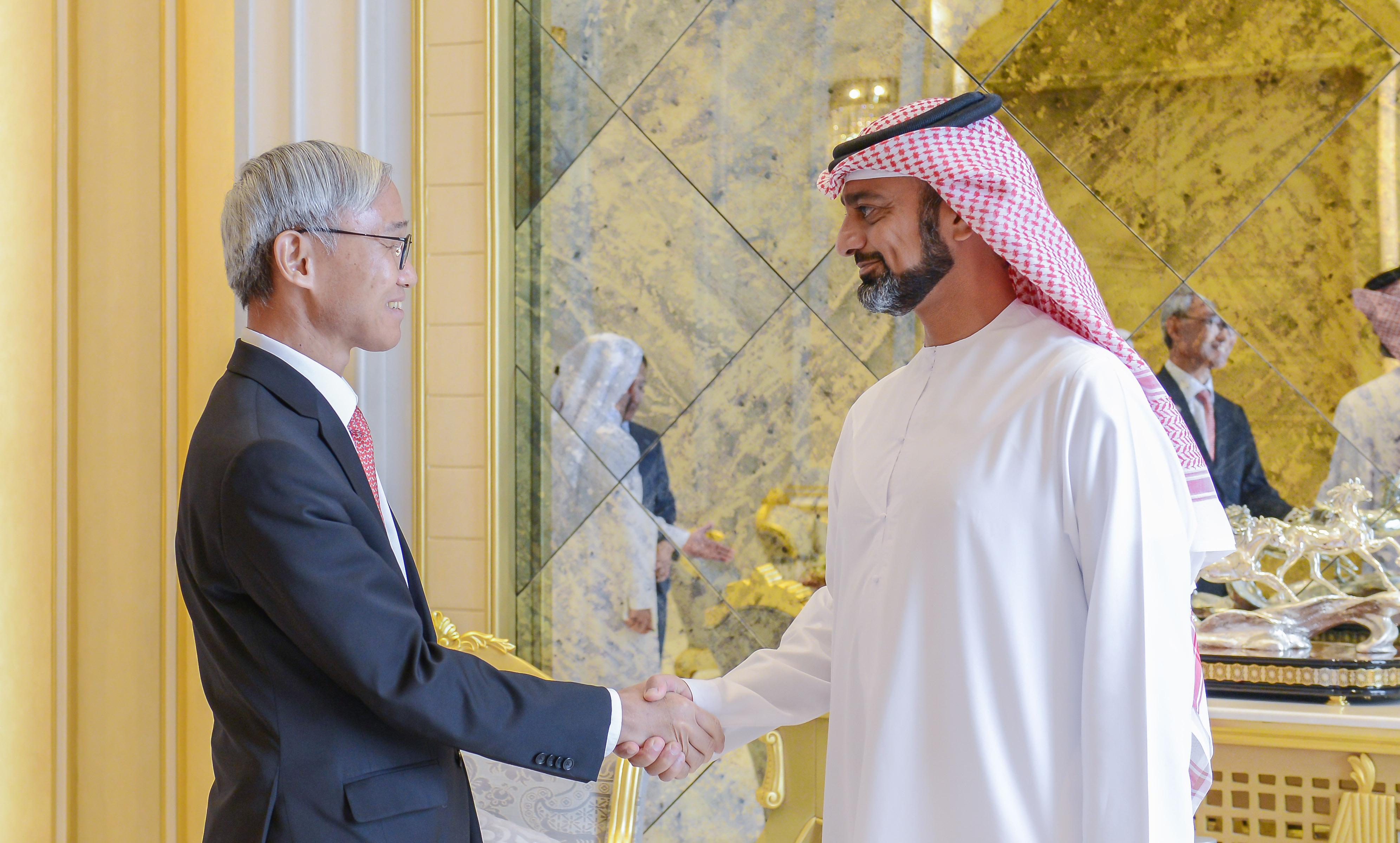 ولي عهد عجمان يستقبل قنصل عام كوريا الجنوبية