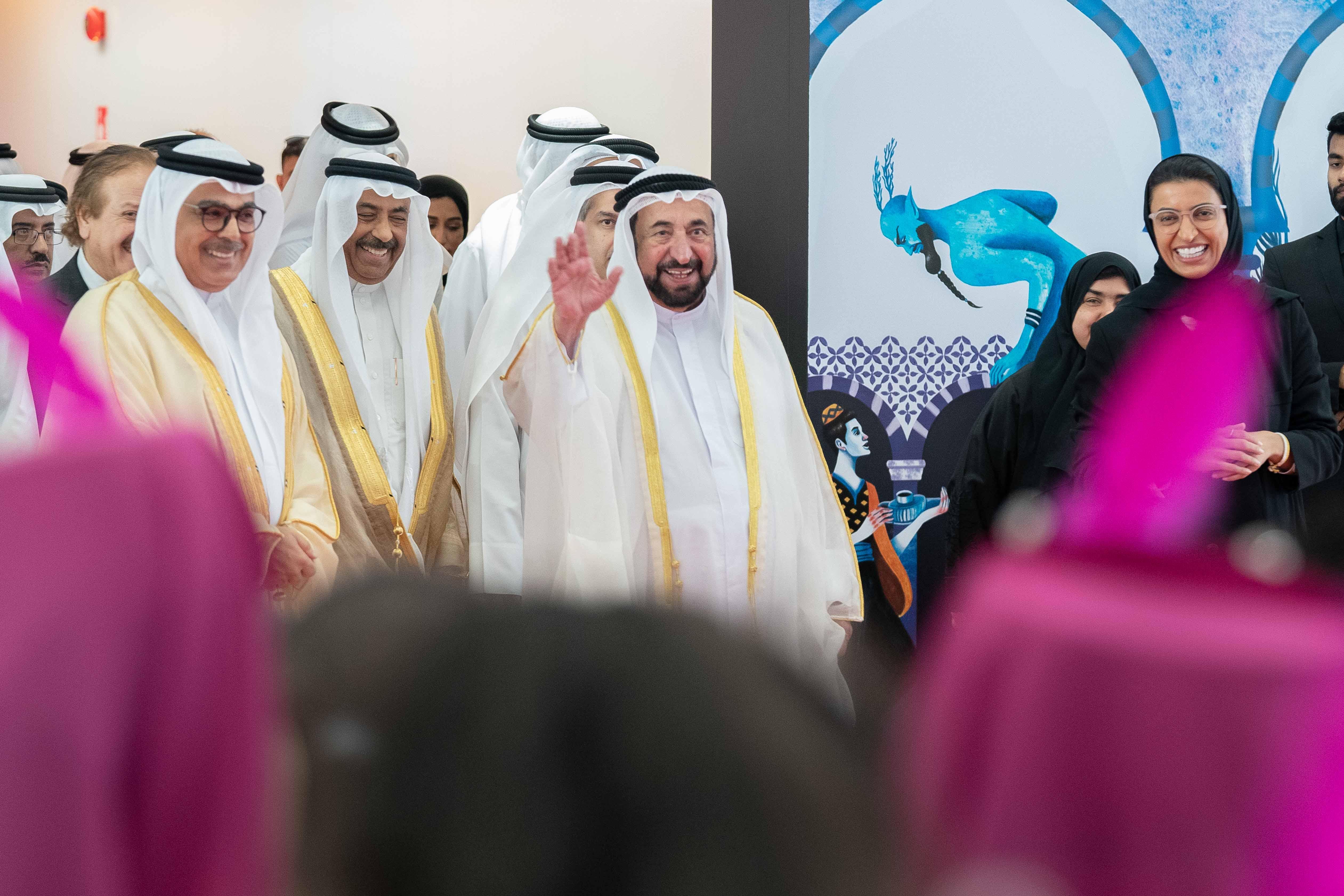 سلطان القاسمي يشهد افتتاح النسخة الـ 19 من ملتقى الشارقة الدولي للراوي