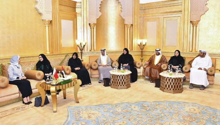أمل القبيسي تلتقي رئيسة مجلس النواب البحريني