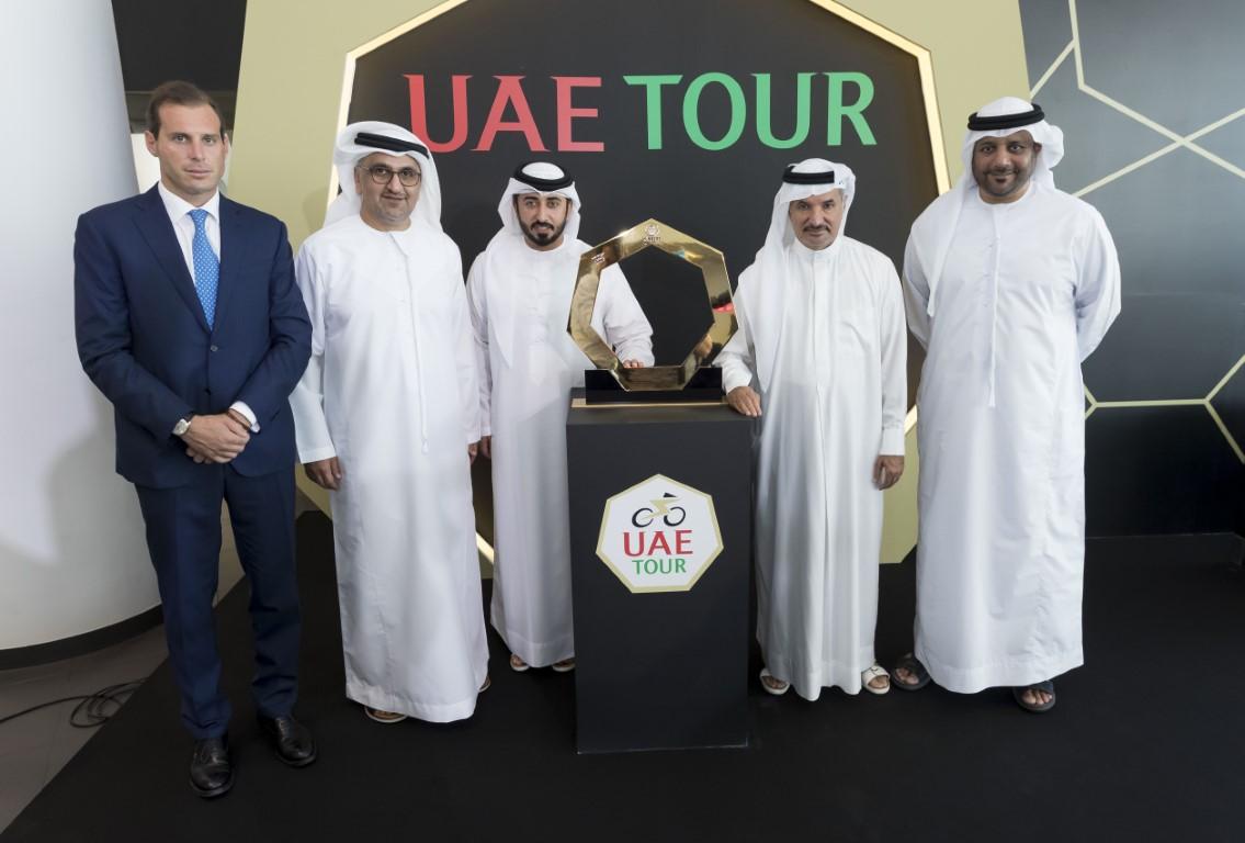 """انطلاق منافسات النسخة الثانية لـ""""طواف الإمارات"""" فبراير2020"""
