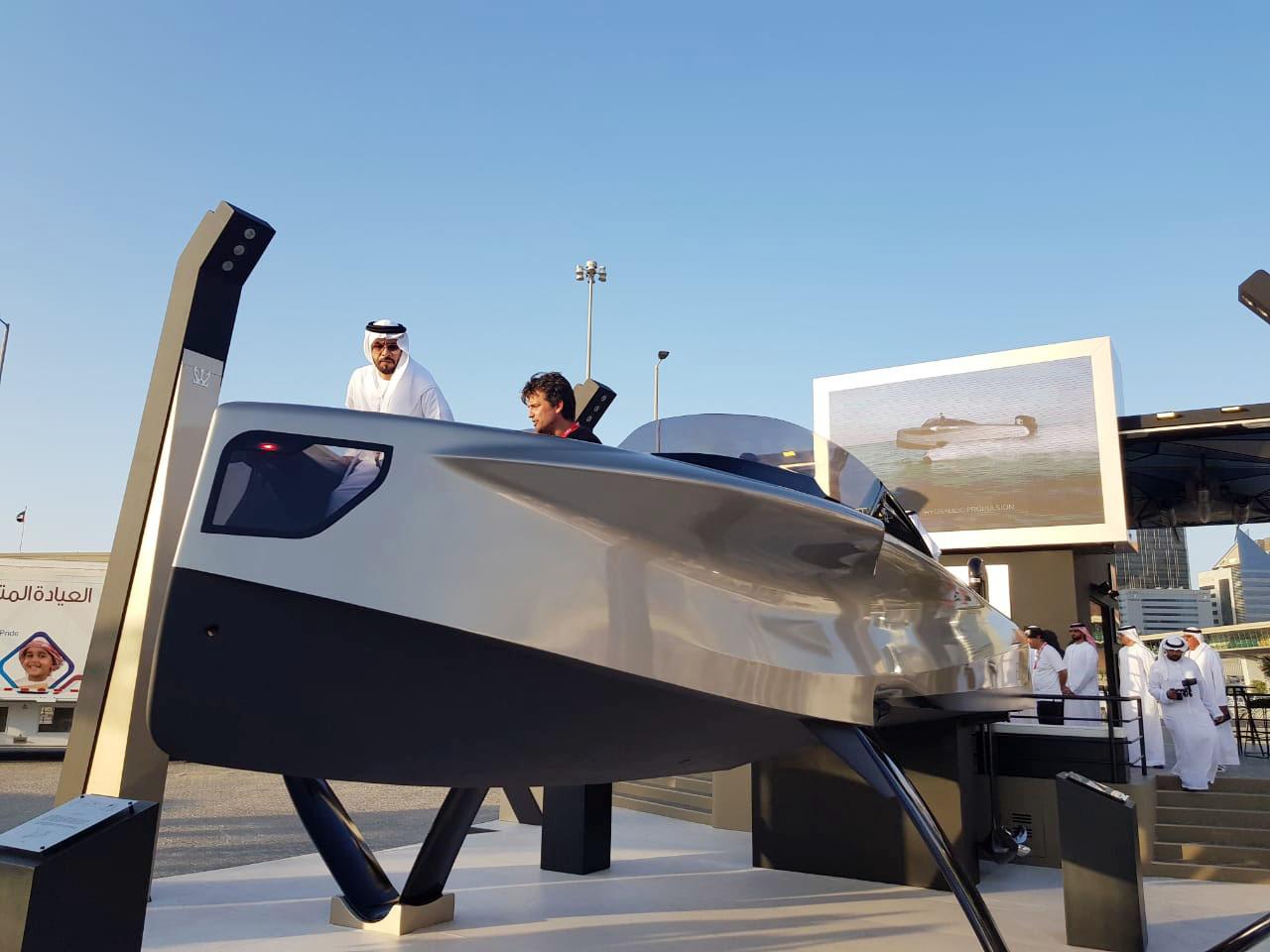 خليفة بن محمد يفتتح معرض أبوظبي الدولي للقوارب 2019