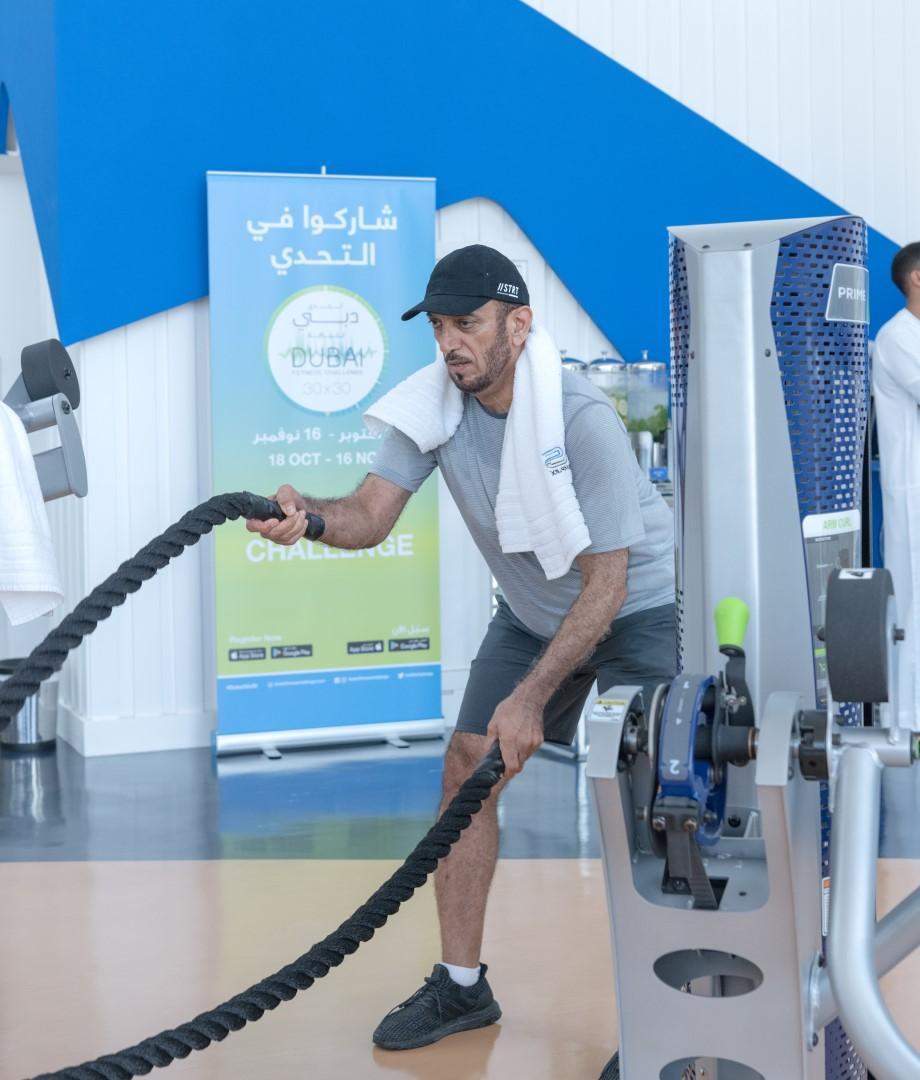 حمدان بن محمد يدعو للمشاركة في تحدي دبي للياقة 2019