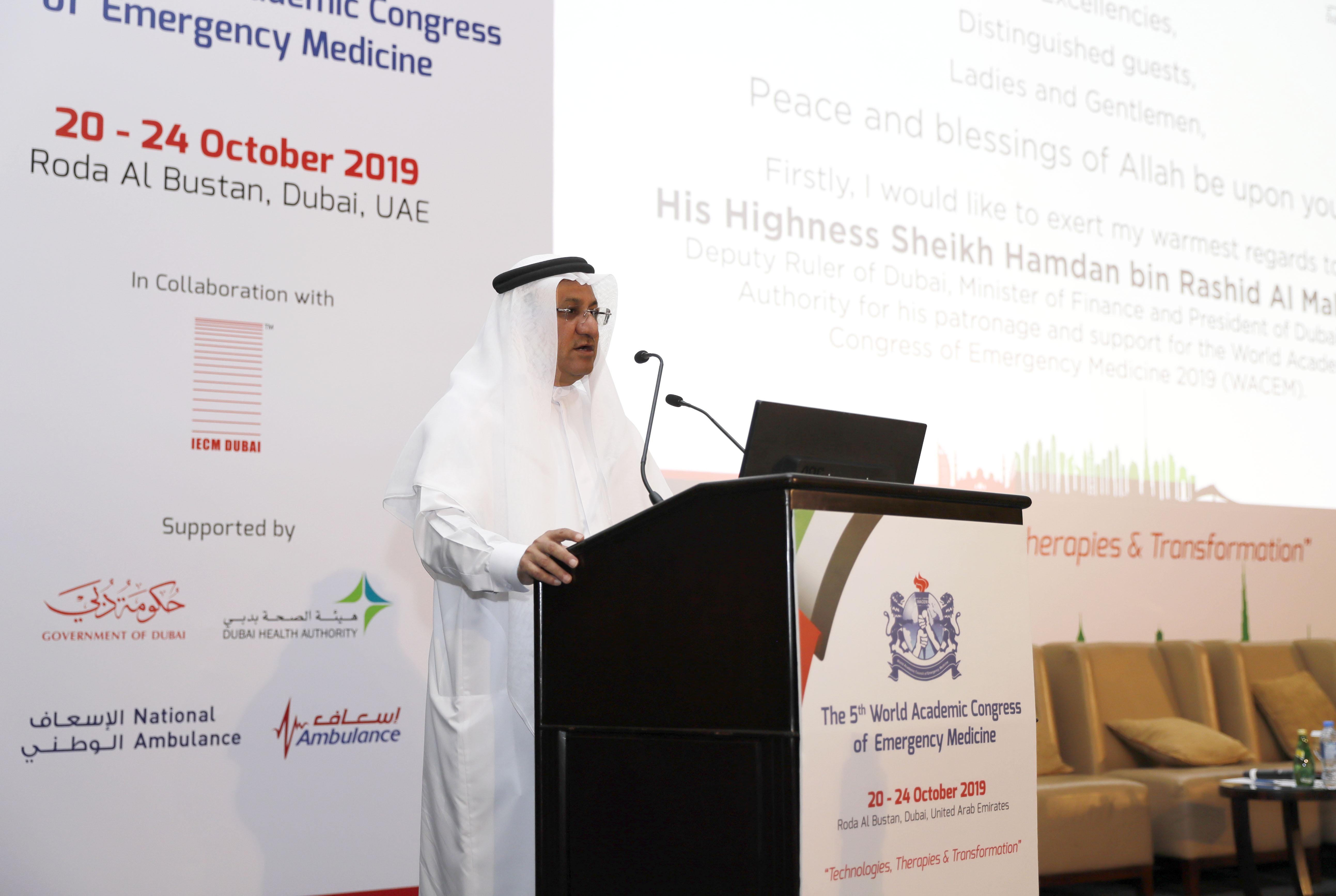 إفتتاح المؤتمر الأكاديمي العالمي الخامس لطب الطوارئ للمرة الأولى في دبي