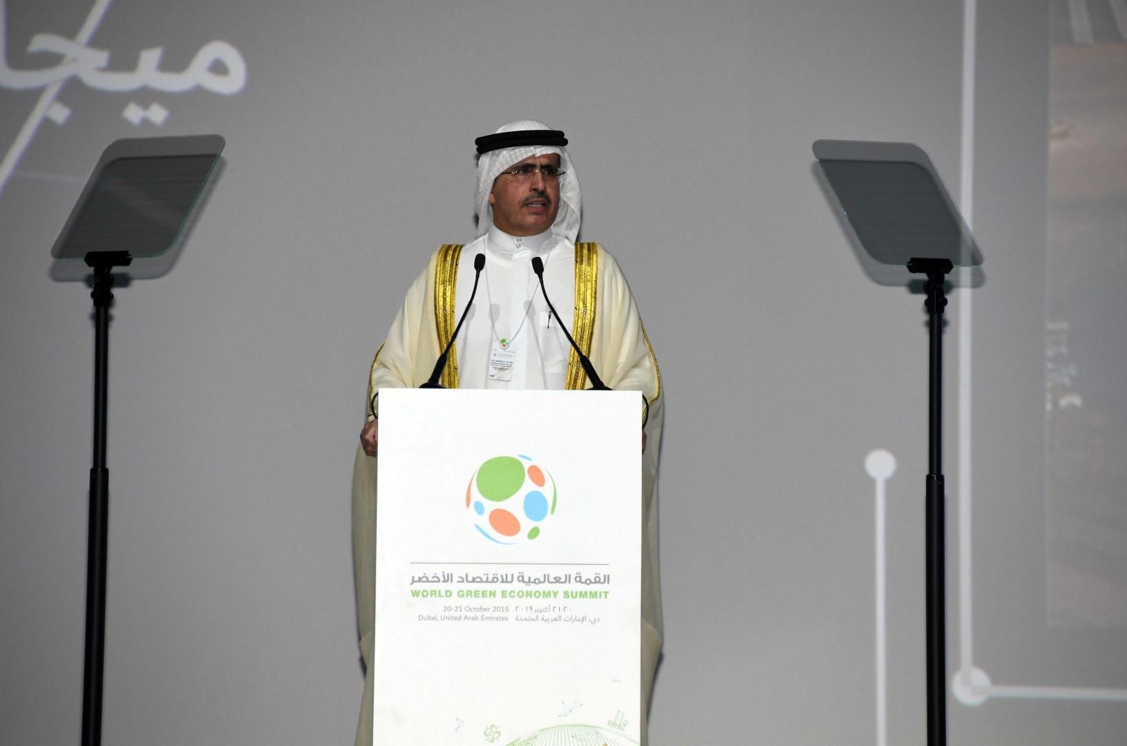 حمدان بن راشد يفتتح القمة العالمية السادسة للاقتصاد الأخضر