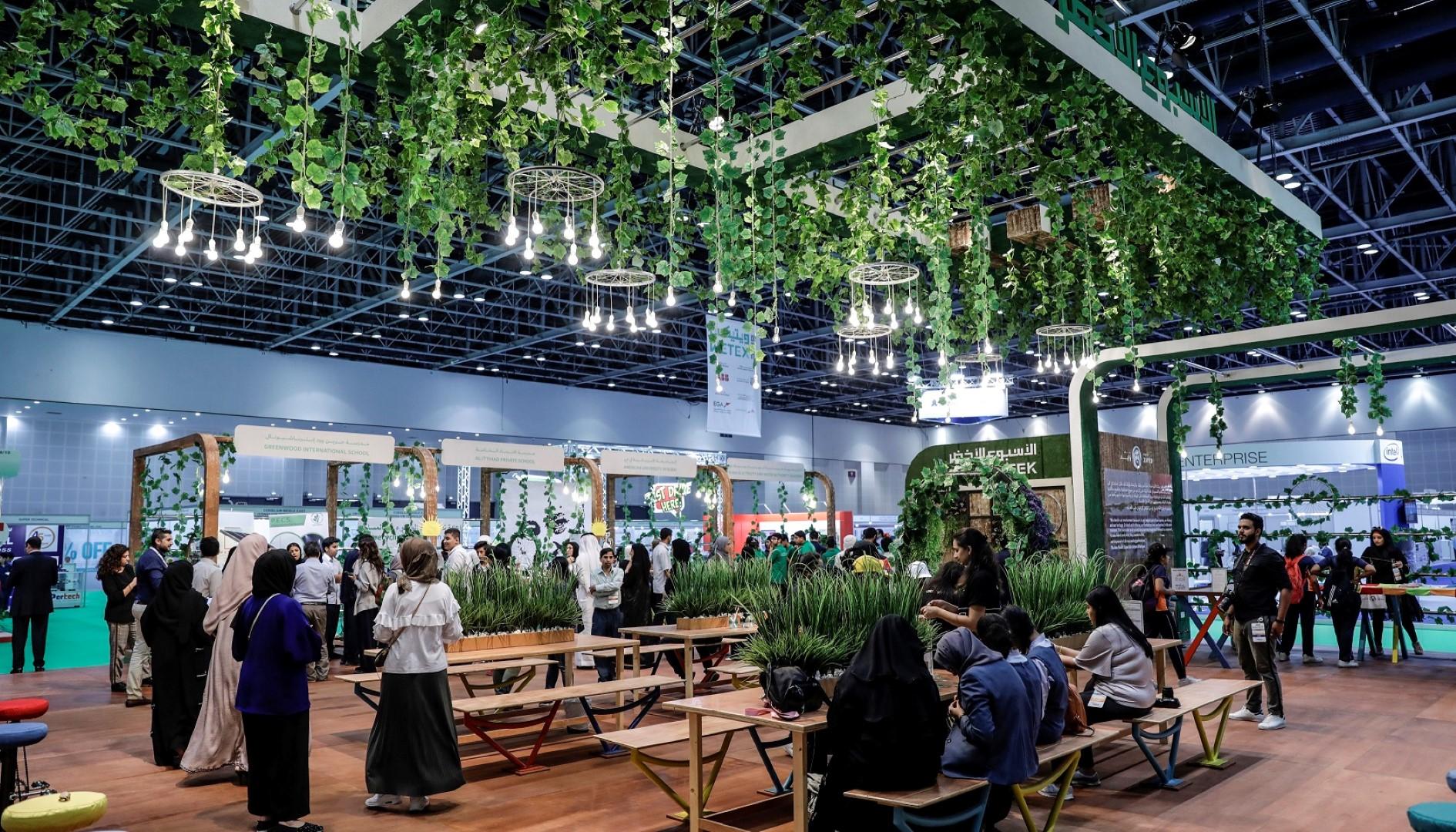 """2350 شركة و55 دولة تشارك في معرضي """"ويتيكس"""" ودبي للطاقة الشمسية غدا"""
