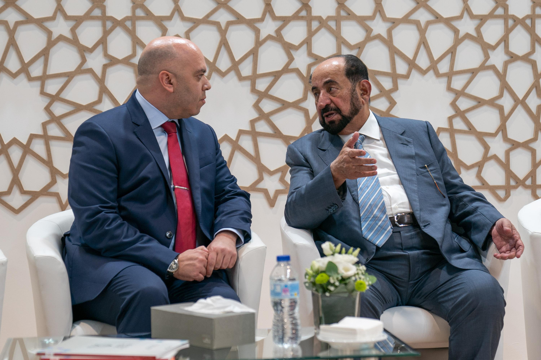 """سلطان القاسمي يشهد انطلاق """"معرض ليبر للكتاب"""" بمدريد.. ويزور جناح الشارقة ضيف الشرف"""