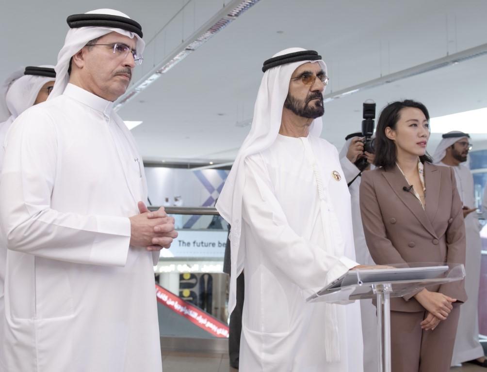 محمد بن راشد يفتتح اربعة مختبرات مستقبلية في منطقة 2071