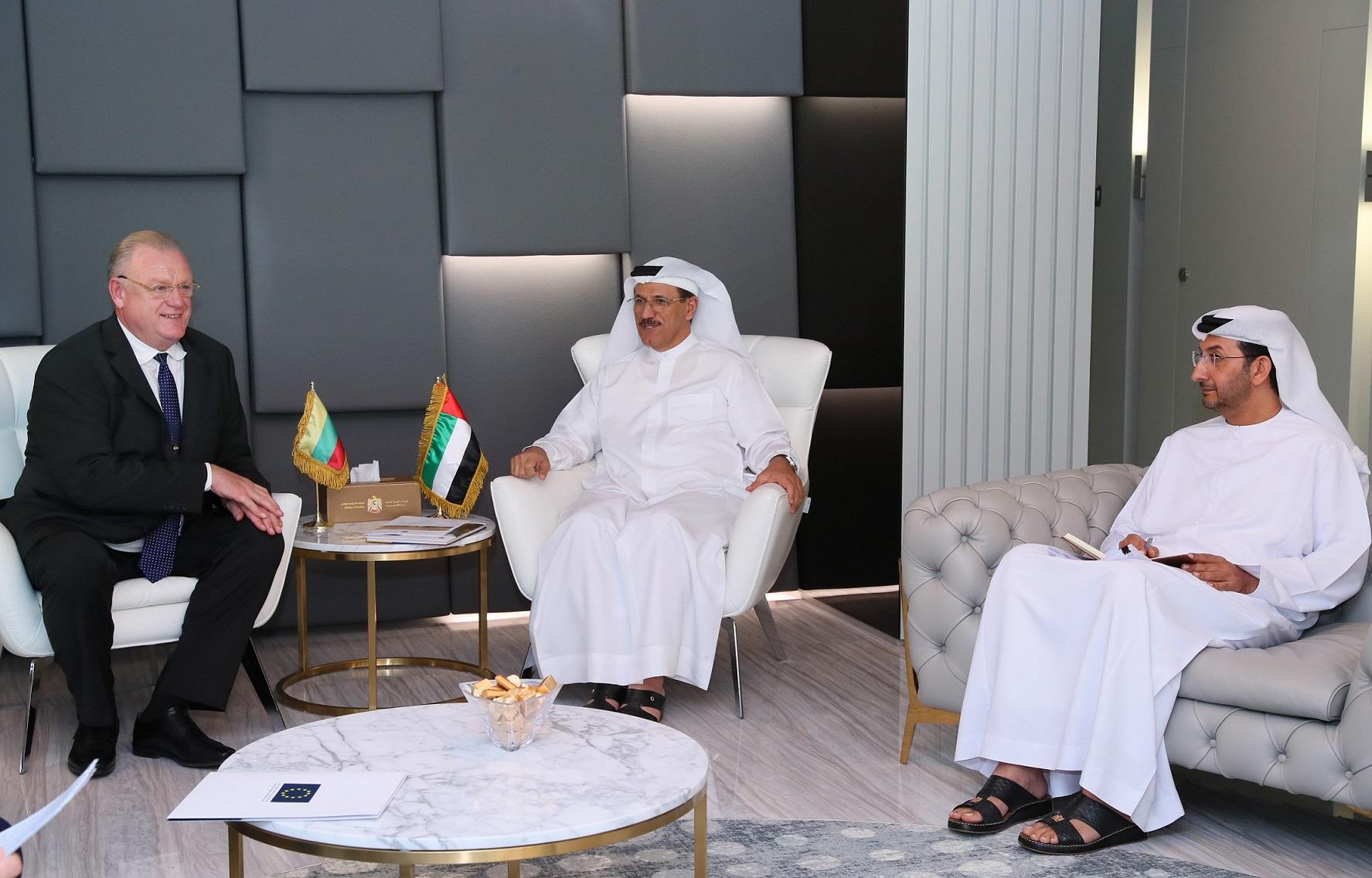 الإمارات وليتوانيا يستعرضان جهود التعاون الاقتصادي المطروحة للمرحلة المقبلة