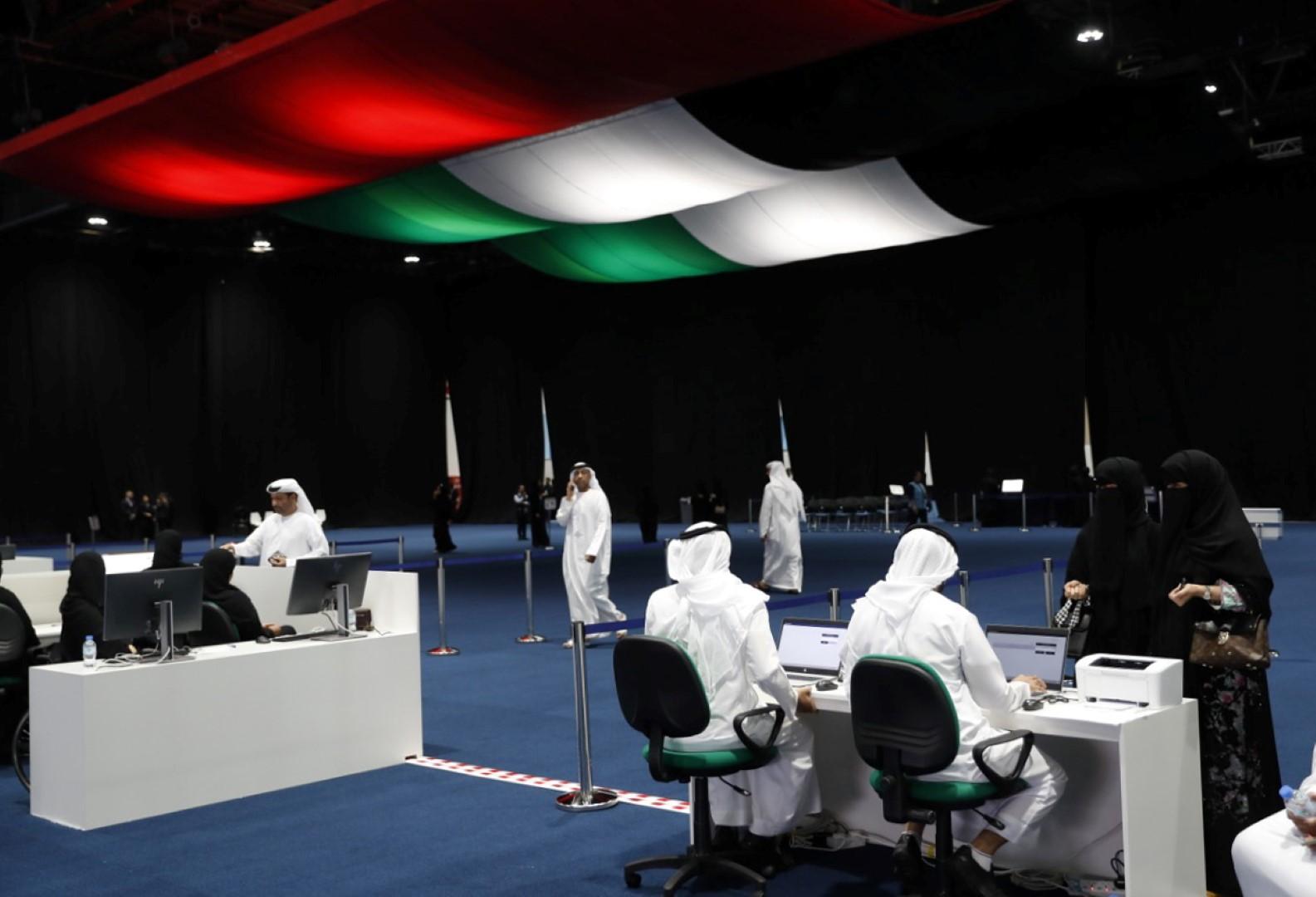 لجنة إمارة أبوظبي تشيد بتفاعل الناخبين خلال أيام التصويت المبكر