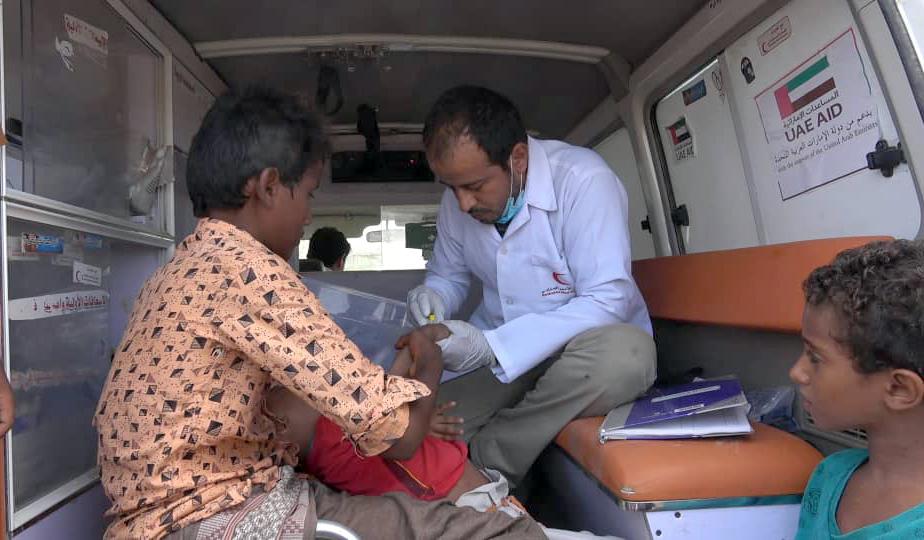 الإمارات تعزز حملة مكافحة الأوبئة في الساحل الغربي اليمني