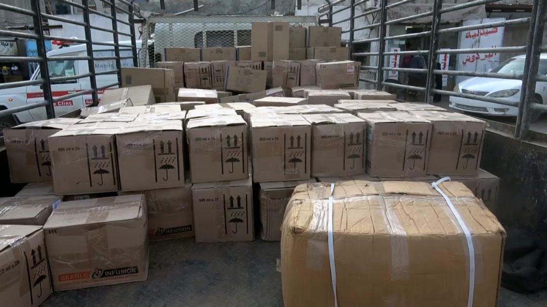 شحنة أدوية من الإمارات لمستشفى ردفان العام بلحج