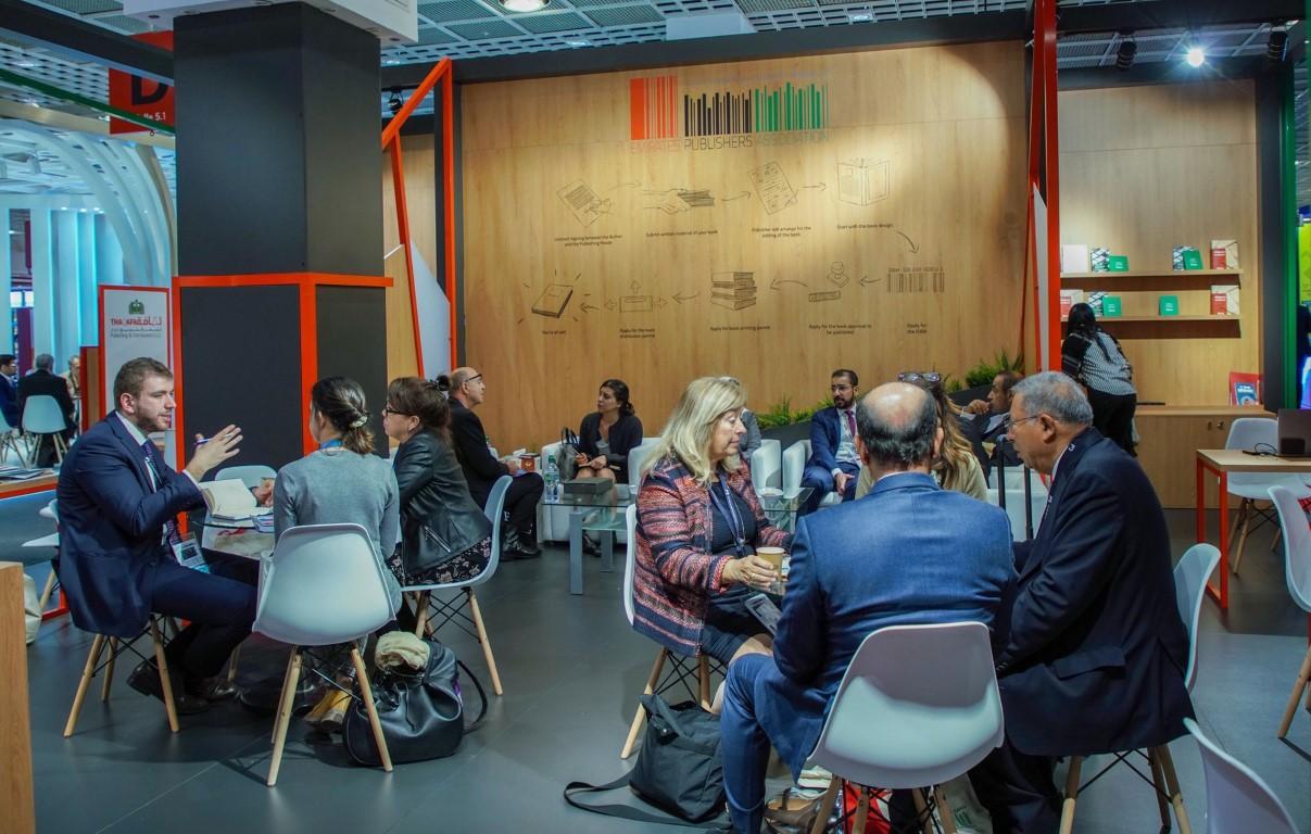 لقاءات و أنشطة متعددة لجمعية الناشرين الإماراتيين خلال معرض فرانكفورت للكتاب