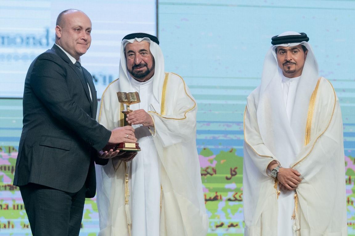 حاكم الشارقة يشهد حفل افتتاح فعاليات الدورة  38 من معرض الشارقة الدولي للكتاب