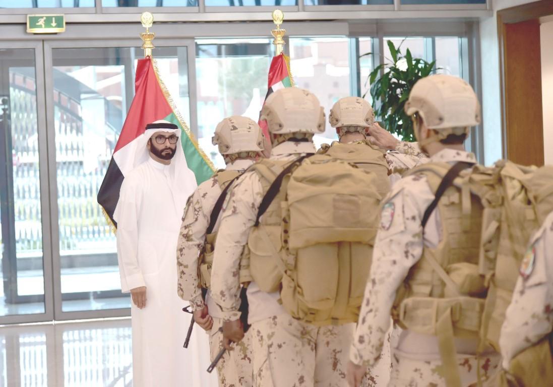 عودة القوات الإماراتية العاملة في عدن بعد إنجاز مهمة تحرير المدينة وتأمينها بنجاح