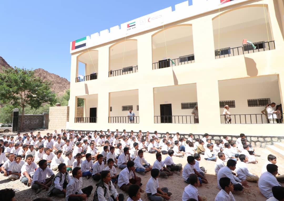 الإمارات تواصل دعم قطاع التعليم في المحافظات اليمنية المحررة