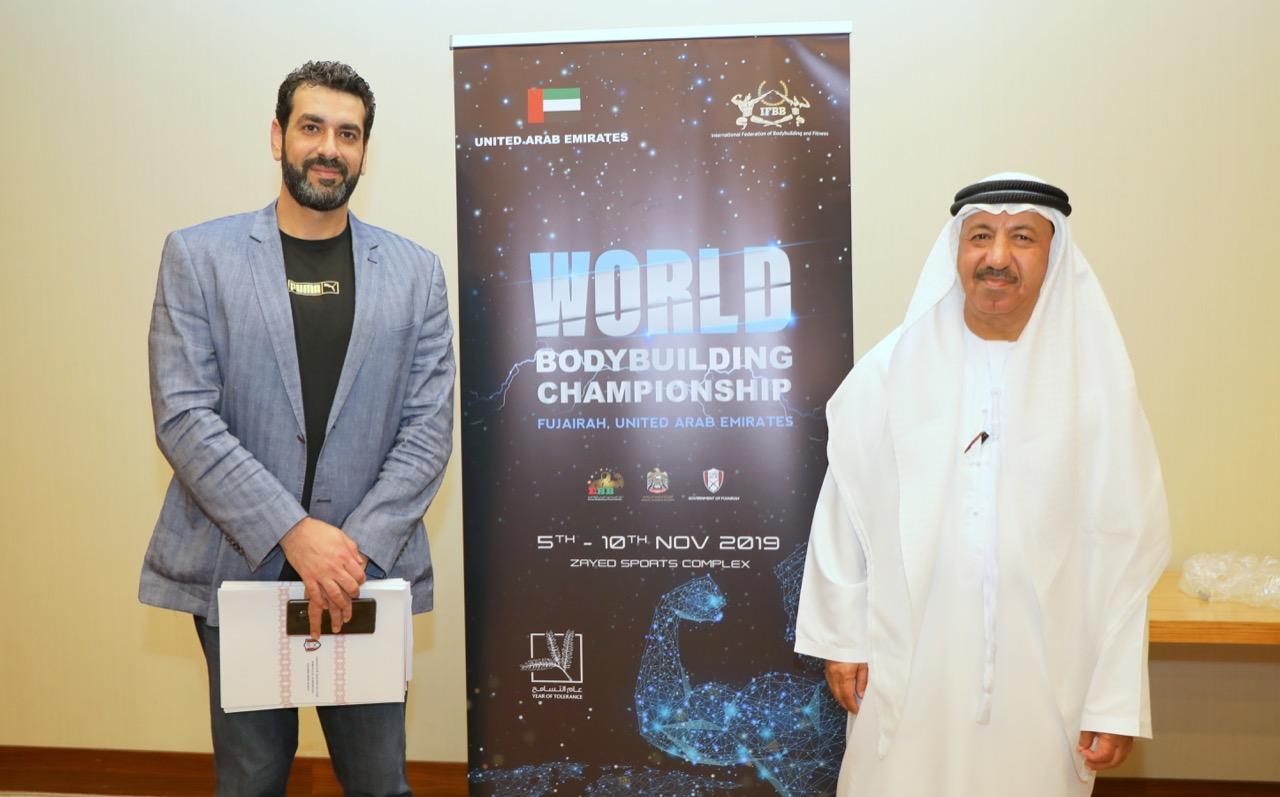 بطولة العالم  ورئيس اللجنة المنظمة