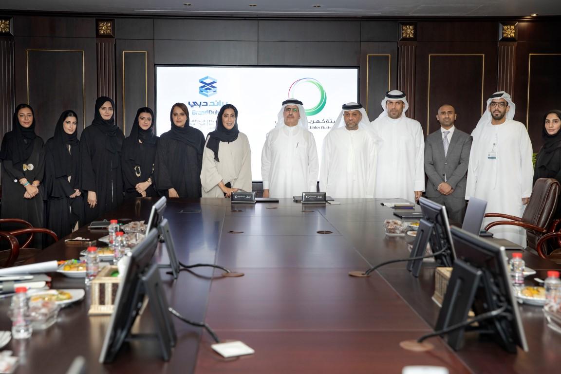 """اتفاقية تعاون بين """"كهرباء دبي"""" و""""براند دبي"""" لتنفيذ أعمال فنية تبرز روح دبي الإبداعية"""