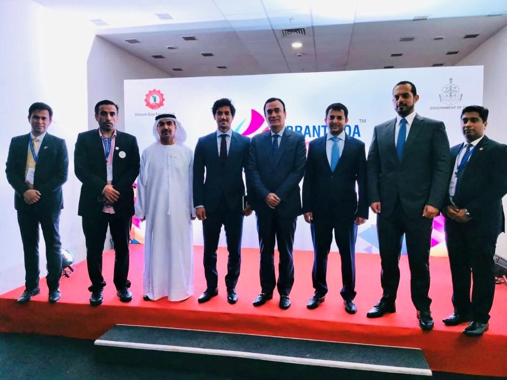 الإمارات تشارك في أعمال القمة والمعرض الدولي لمدينة غوا الهندية