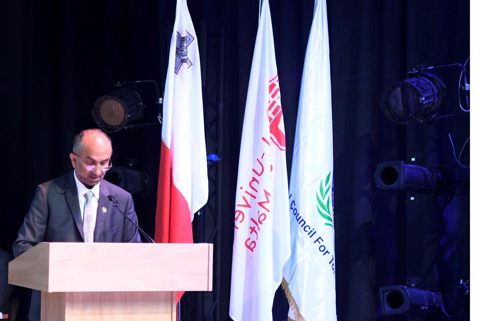 رئيس مالطا يفتتح المؤتمر الأكاديمي الأول للمجلس العالمي للتسامح والسلام