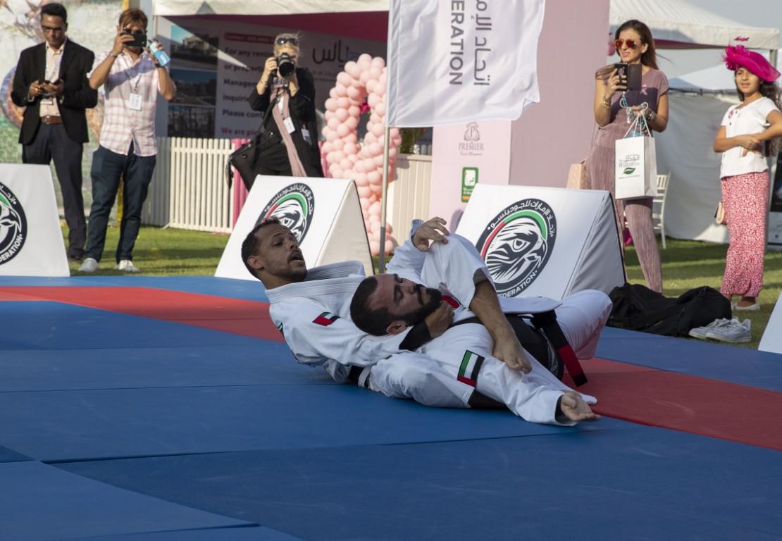 الجوجيتسو يشارك في بطولة البولو الوردية
