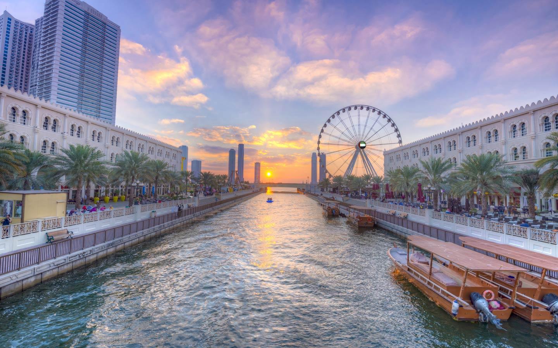 Photo of The Day |  Al Qasba, a cultural landmark in Sharjah City