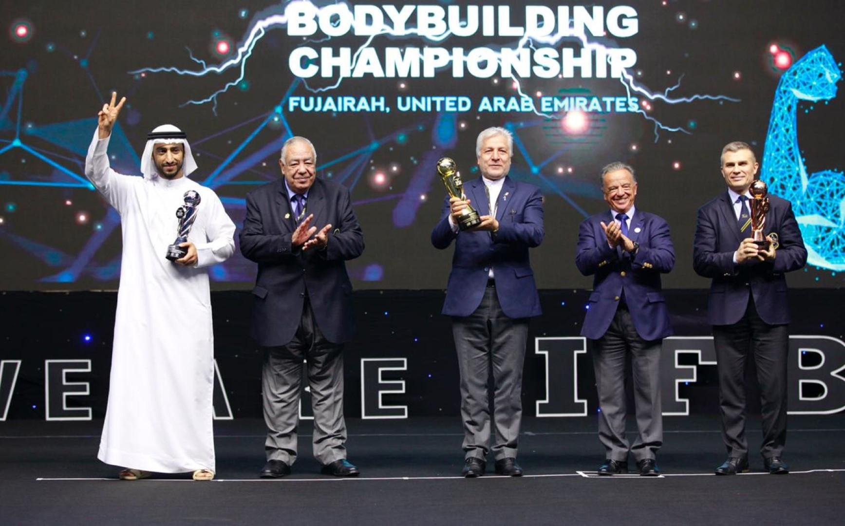 اختتام منافسات بطولة العالم لبناء الأجسام والفيزيك 2019 في الفجيرة