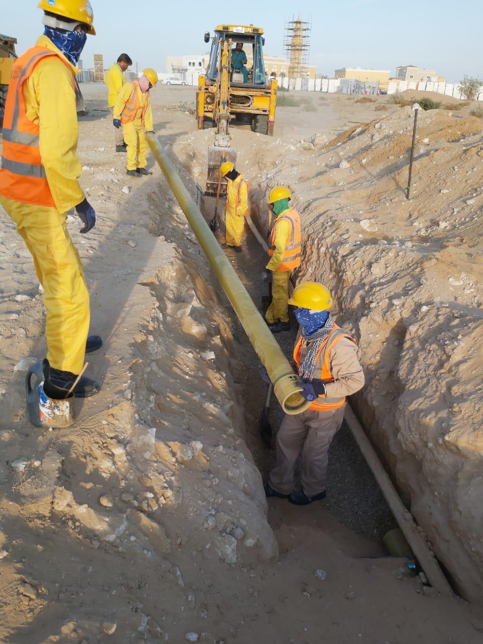 """كهرباء و مياه الشارقة تنجز"""" 180 كم """"من تمديدات المياه بمناطق السيوح"""