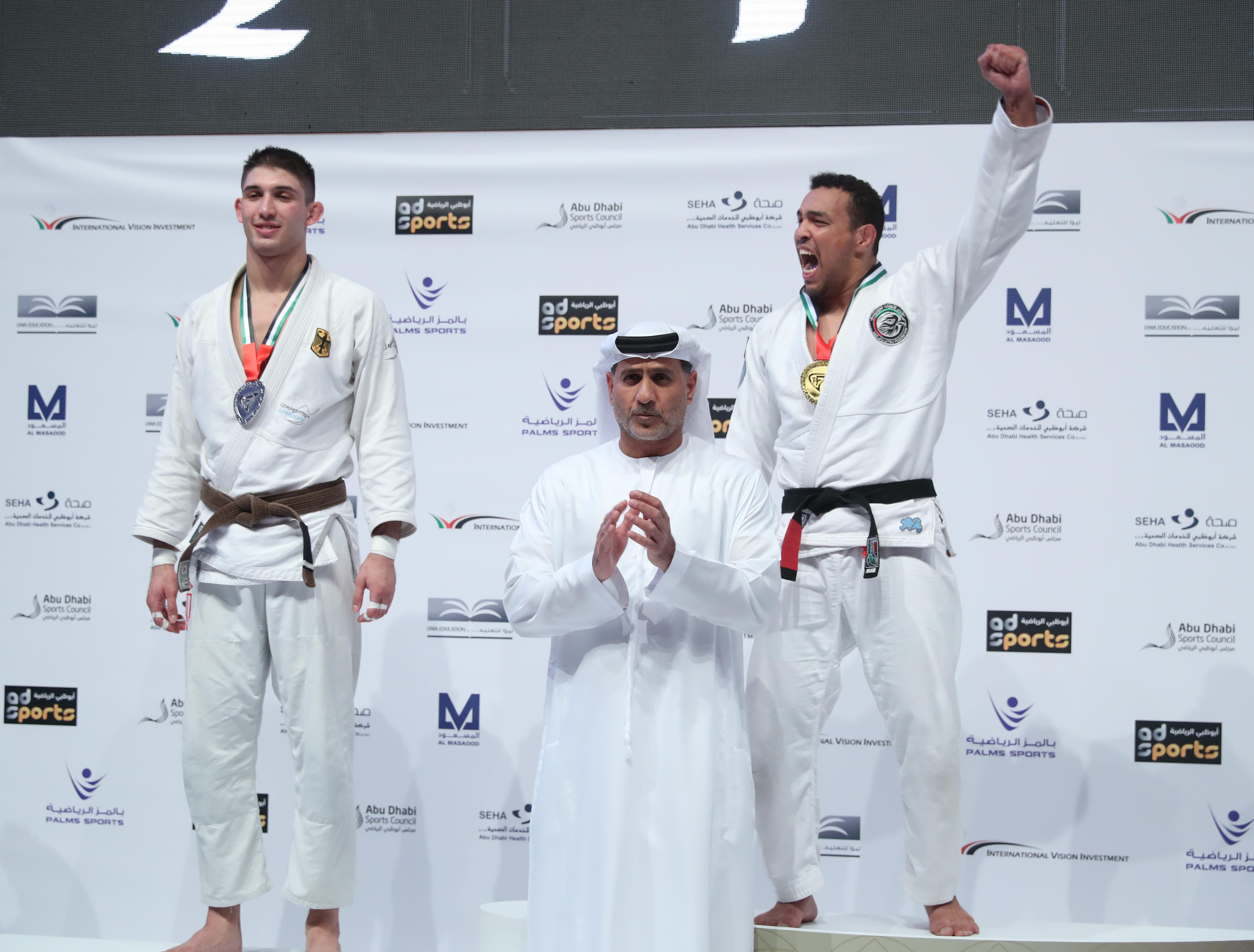 فيصل الكتبي يحرز ذهبية بطولة العالم للجوجيتسو ويرفع رصيد الإمارات إلى 41 ميدالية