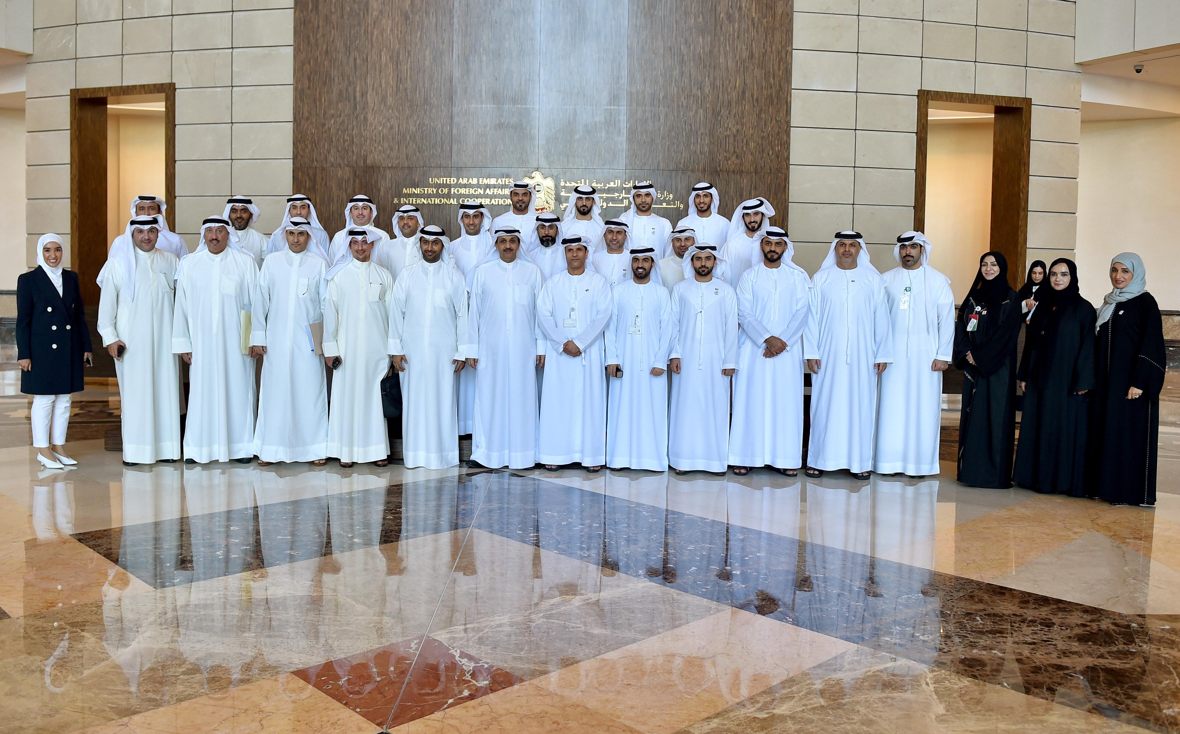 اللجنة القنصلية الإماراتية الكويتية تعقد دورتها الثالثة في أبوظبي