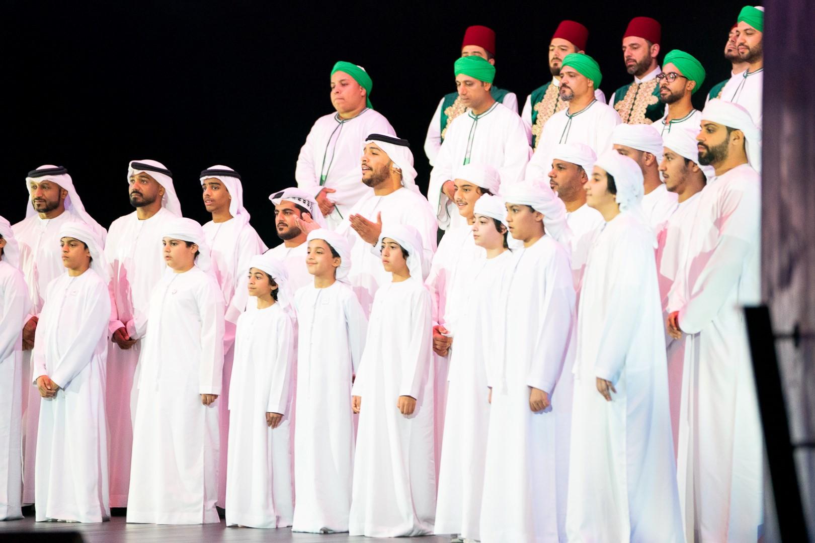 عبدالله بن زايد يشهد أمسية احتفالية بالمولد النبوي الشريف